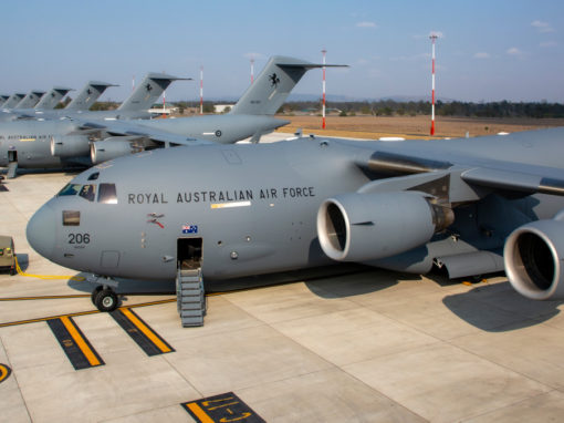 Amberley RAAF C-17