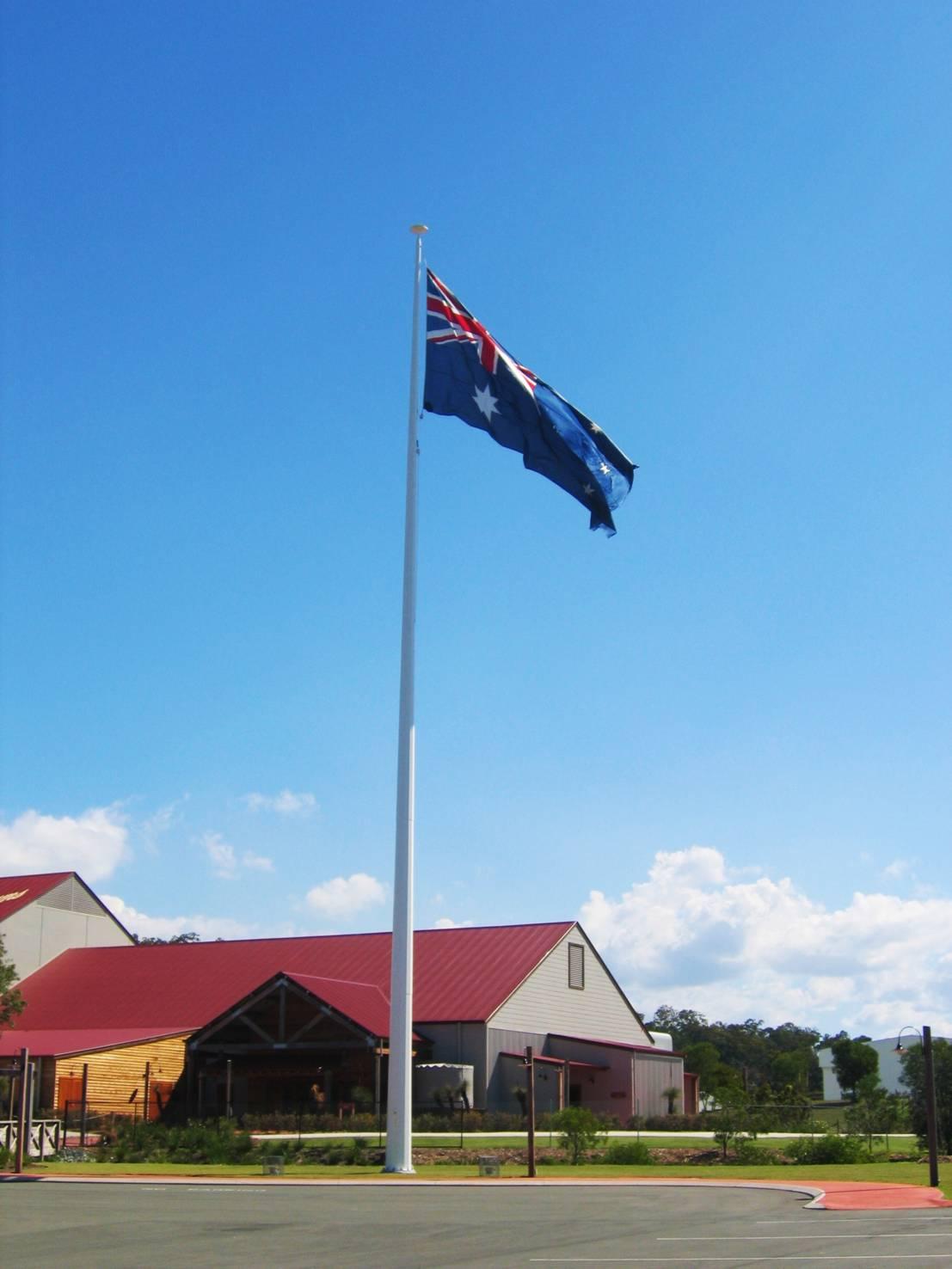 Australian Outback 30m Flag Pole