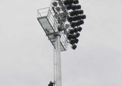 Climbing Brookvale Oval Platform Poles