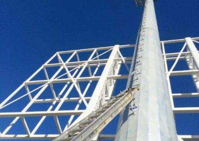 Climbing NIB Stadium