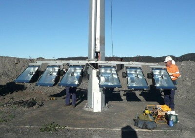 Servicing Lights, Curragh Mine