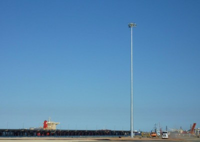50m Highmast, Gladstone Port