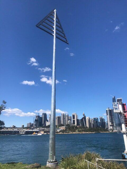 Goat Island Navigation pole