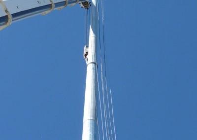 Install, 50m Highmast