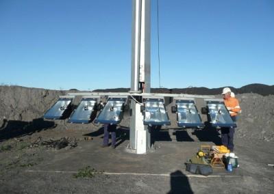 Mid-hinge Pole, Curragh Mine