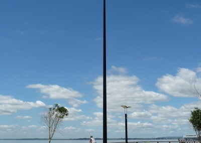 Tapered BK Pole