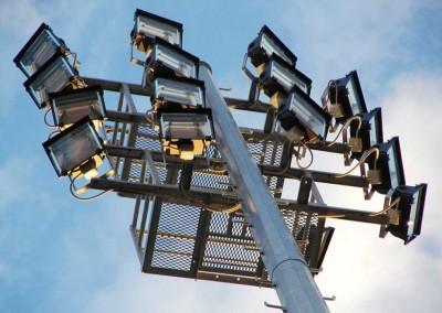 Lucas Heights Platform Pole