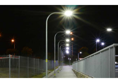 Richlands Station Pathway at Night