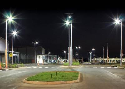 Robertson Barracks Solar poles