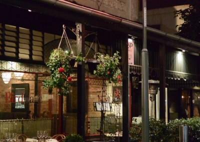 Decorative poles, Woolloongabba Streetscape