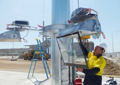 Highmast Maintenance , Port of Brisbane