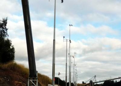 40m Hydraulic pole,  Mt Arthur