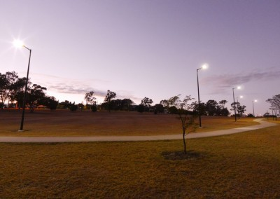 Path lighting, Limestone Park: Ipswich