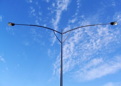 Decorative Streetlight pole