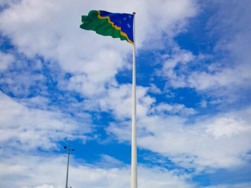 Solomon Ports 50m Flag pole