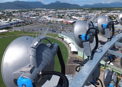 View from headframe, Cazayl's Stadium, Cairns