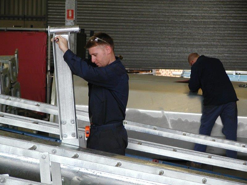 Factory assembly of headframe