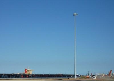 50m Highmast, Gladstone Port