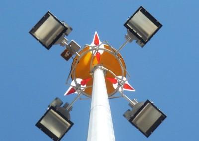 30m Highmast Pole: Port of Brisbane