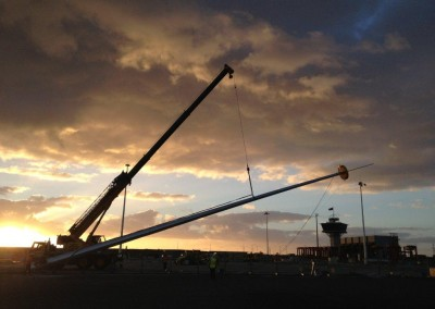 Gladstone Port Highmast Install