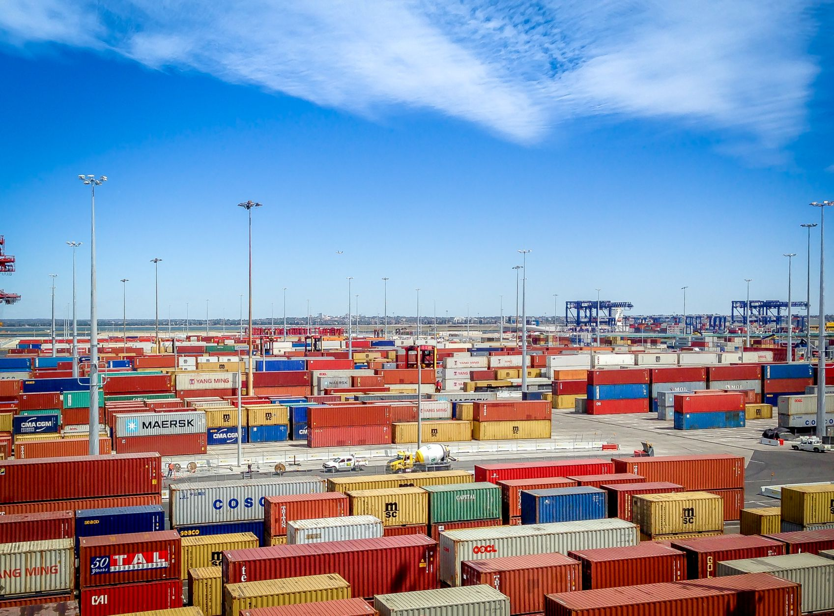 Patrick Terminal Port Botany