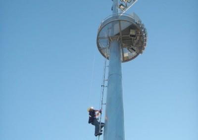 Climbing RNA Platform pole