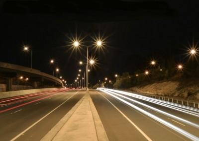 Street lighting, Centenary Motorway: Brisbane