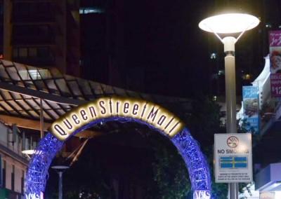 Circular Pipe Pole, Queen Street Mall