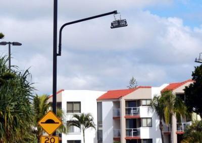 Pedestrian crossing, Sunshine coast